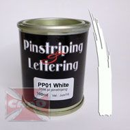 PP01 White pinstriping 100ml