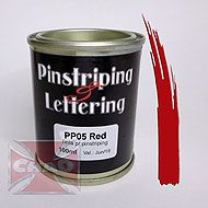 PP05 Red pinstiping 100ml