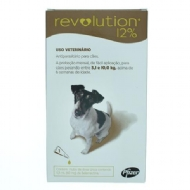 Anti Pulgas e Carrapatos Pfizer Revolution 12% para Cães de 5 a 10 kg - 60 mg