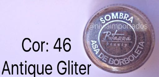 46 - ANTIQUE C/ GLITTER