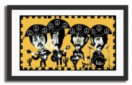 Quadro Beatles (Cordel de Liverpool)