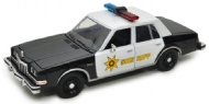 1986 DODGE DIPLOMAT COUNTRY SHERIFF ESCALA 1/24