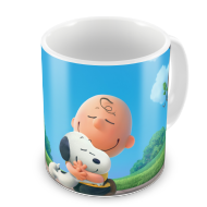 Caneca Snoop dogg e Charlie brown