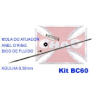 Kit Agulha e Bico 0,30mm