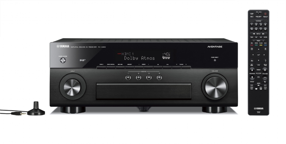 receiver yamaha rx a880 griffe home theater. Black Bedroom Furniture Sets. Home Design Ideas