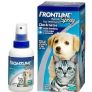 Anti Pulgas e Carrapatos Frontline Spray para Cães e Gatos 100 ml