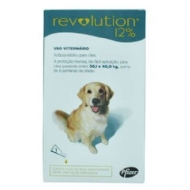 Anti Pulgas e Carrapatos Pfizer Revolution 12% para Cães de 20 a 40 kg - 240 mg