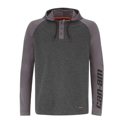 BLUSA CAN-AM NEW IMPULSE CINZA