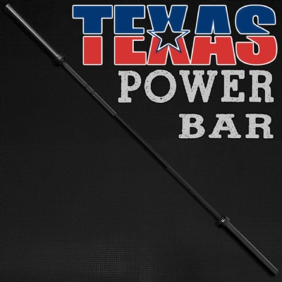 Texas Power Bar - 25kg - 2,45m - 30mm
