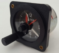 QUARTZ AIRCRAFT CLOCK PN 7838A 24V PN 10-22824