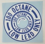 ADESIVO LOW LEAD ONLY 100 OCTANE PN 09-42806