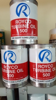 ROYCO TURBINE OIL 500 PN 0F9B879