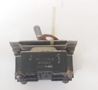 Aircraft Toggle Switch PN: AN3226-2