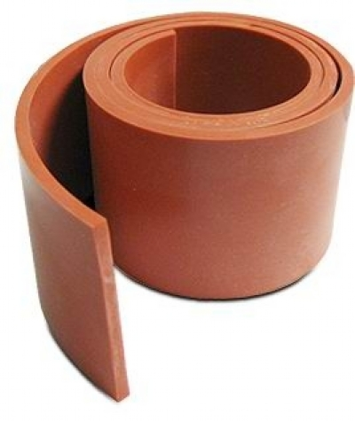 SILICONE BAFFLE SEAL - IRON OXIDE RED PN: 05-00775