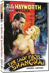 A DAMA DE SHANGHAI /  THE LADY FROM SHANGHAI / Orson Welles, Rita Hayworth, Everett Sloane, Glenn Anders / DUBLADO