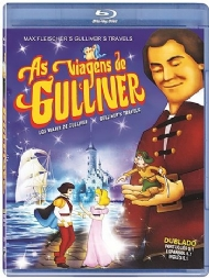 AS VIAGENS DE GULLIVER / GULLIVERS TRAVELS /  Dave Fleischer / DUBLADO