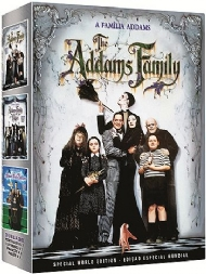COLEÇÃO FAMÍLIA ADDAMS COLOR / THE ADDAMS FAMILY COLLECTION / COLORIDA / DUBLADA