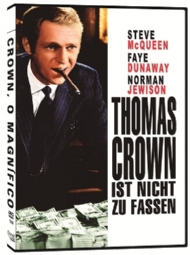 CROWN, O MAGNÍFICO / EL CASO DE THOMAS CROWN / THE THOMAS CROWN AFFAIR / STEVE MCQUEEN