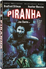 PIRANHA / Joe Dante, Bradford Dillman, Heather Menzies, Kevin McCarthy / DUBLADO