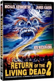 A VOLTA DOS MORTOS VIVOS  2 / RETURN OF THE LIVING DEAD Part 2 / 1982