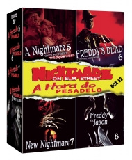 COLEÇÃO A HORA DO PESADELO BOX 2 / NIGHTMARE ON ELM STREET COLLECTION BOX 2 (4 / FILMES DO 5 AO 8)