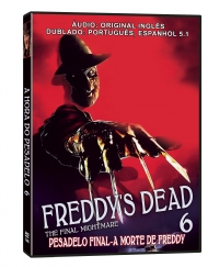 A HORA DO PESADELO 6: PESADELO FINAL, A MORTE DE FREDDY - FREDDY S DEAD: THE FINAL NIGHTMARE / 1991 / EUA