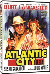 ATLANTIC CITY / 1980 / CAN / LOUIS MALLE / BURT LANCASTER / SUZAN SARANDON