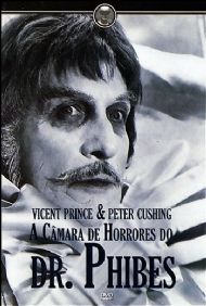 A CÂMARA DE HORRORES DO DR. PHIBES / ORIGINAL: DR. PHIBES RISES AGAIN / Robert Fuest, Vincent Price, Robert Quarry, Peter Jeffrey