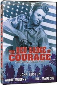 A GLÓRIA DE UM COVARDE / THE RED BADGE OF COURAGE / John Huston, Audie Murphy, Bill Mauldin, Andy Devine, Robert Easton, Douglas Dick
