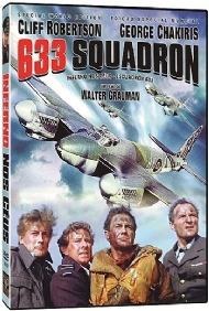INFERNO NOS CÉUS / 633 SQUADRON / Walter Grauman, Cliff Robertson, George Chakiris, Maria Perschy, Harry Andrews, Donald Houston