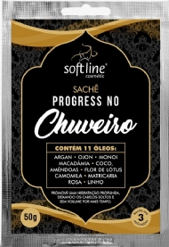 Sachê Máscara Progress no Chuveiro 50g Soft Line.
