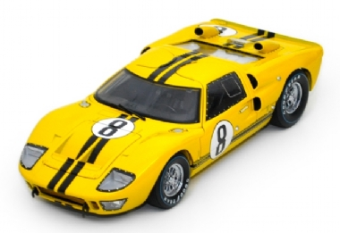 1966 FORD GT40 #8 LE MANS 24 HOURS ESCALA 1/18
