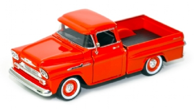 1958 CHEVY APACHE FLEETSIDE PICKUP ESCALA 1/24 MOTOR MAX