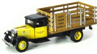 1934 Ford BB-157 Stake Bed Truck 1/43 amarelo