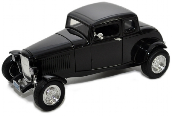 1932 FORD 5 WINDOW COUPE PRETO 1/18