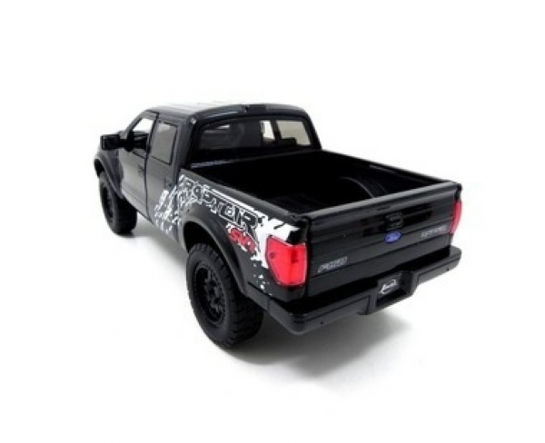2011 FORD RAPTOR PRETO ESCALA 1/24