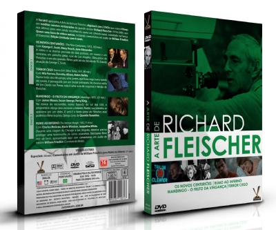 A Arte de Richard Fleischer - Edição Limitada com 4 Cards (Digistack 2 DVDs)
