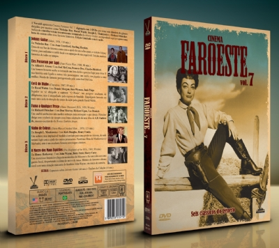 Cinema Faroeste Vol. 7 - Edição Limitada com 6 Cards (Digistack com 3 DVDs)