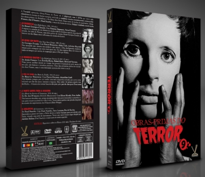 Obras-primas do Terror Vol. 9 - Edição Limitada com 6 Cards (Digistack com 3 DVDs)