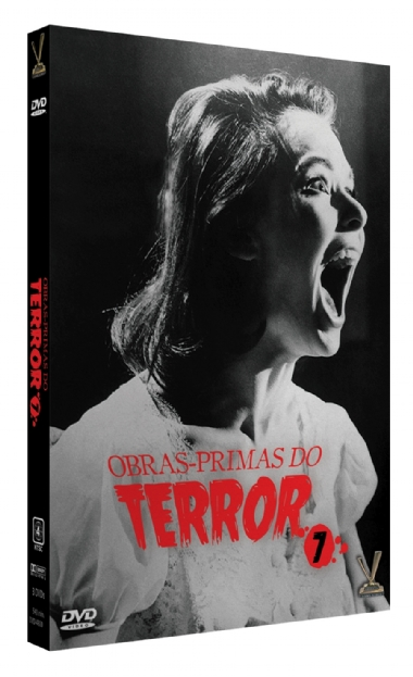 Obras-primas do Terror Vol. 7 - Edição Limitada com 6 Cards (Digistack com 3 DVDs)